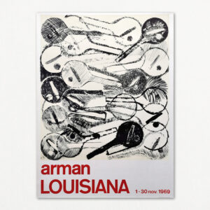 Arman. Original plakat fra Louisiana 1969.