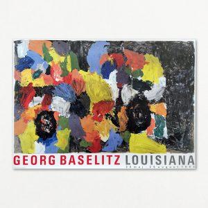 Baselitz - Bildneun - original plakat fra Louisiana 1993