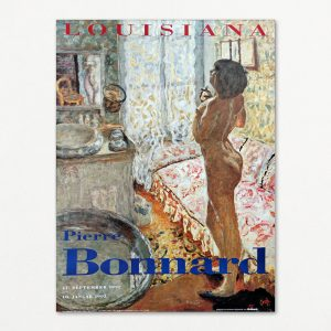 Pierre Bonnard original plakat, Model i modlys. Louisiana 1992.