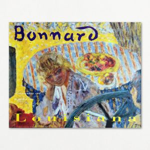 Pierre Bonnard, Unge kvinder i haven, original Louisiana plakat 1992.