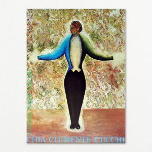 Chia, Clemente, Cucchi original plakat fra Louisiana 1983