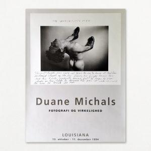 Duane Michals fotografi, original plakat fra udstilling på Louisiana 1994