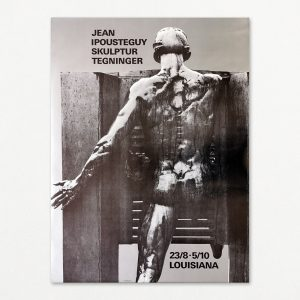 Jean Ipousteguy udstillingsplakat fra Louisiana 1975.