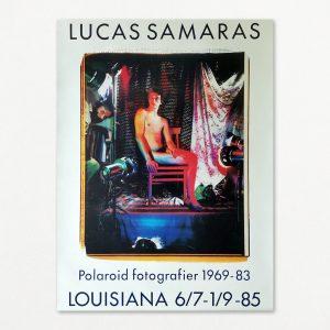 Lucas Samaras, Polaroid fotografier, original plakat fra udstilling på Louisiana 1985.