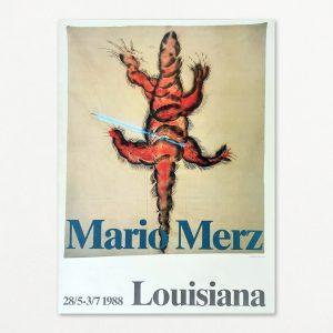 Mario Merz. Original plakat fra Louisiana 1988.