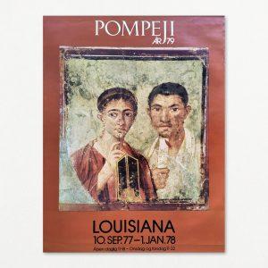 Pompeji år 79. Original plakat fra Louisiana 1977.