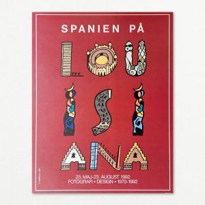 Spanien på Louisiana - original plakat fra Louisiana 1992