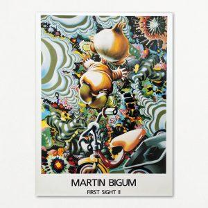 Martin Bigum: First Sight II. Plakat.