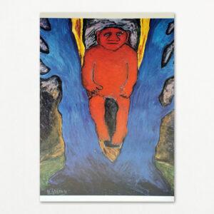 Plakat af Herman Stilling: Rød trold