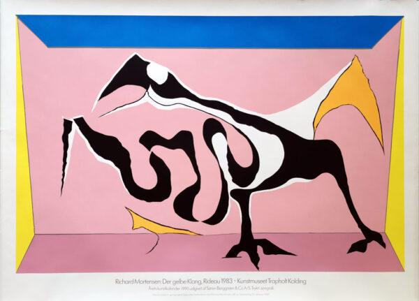 Richard Mortensen - Der gelbe Klang. Kunstmuseet Trapholt 1990.