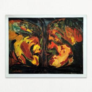Plakat med Wiig Hansen: Møde med Judas