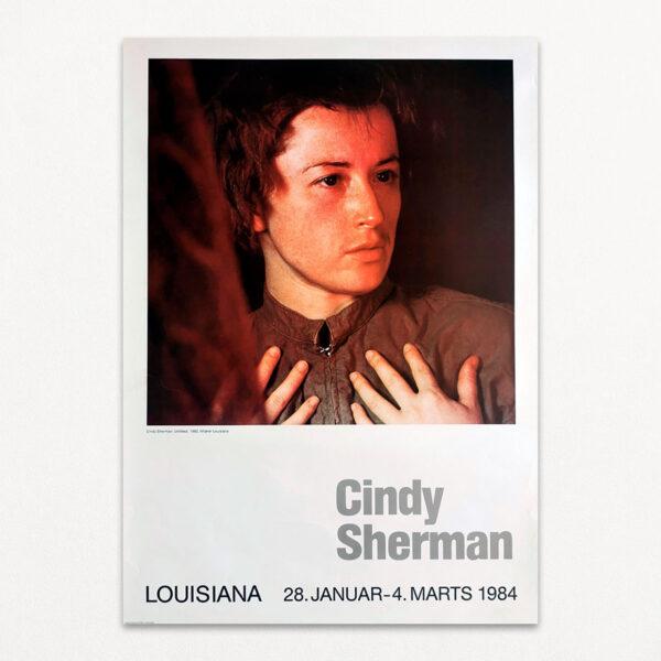 Plakat fra Louisiana med Cindy Sherman.