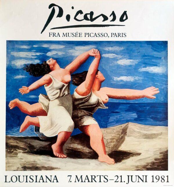 Udstillingsplakat fra Louisiana med Pablo Picasso