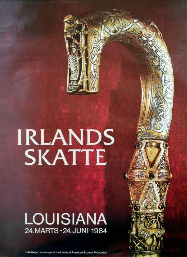 Irlands skatte. Original plakat fra Louisiana 1984