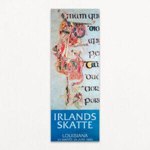 Irlands skatte, dokument. Original udstillingsplakat fra Louisiana