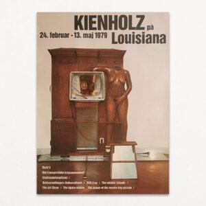 Kienholz på Louisiana. Original plakat fra Louisiana, 1979