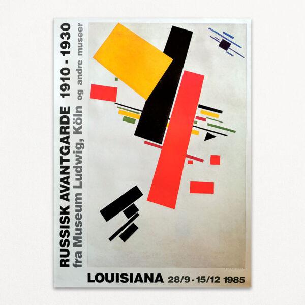 Plakat fra Louisiana: Russisk Avantgarde 1910-1930 fra Museum Ludwig i Köln